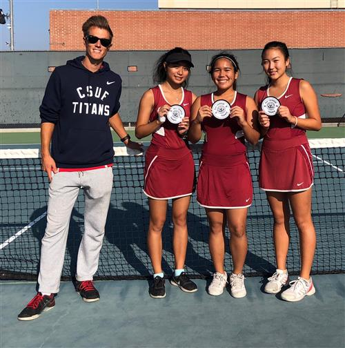 League Finals, Girls Tennis