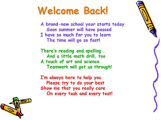 Perez, Michele / Welcome Back to School