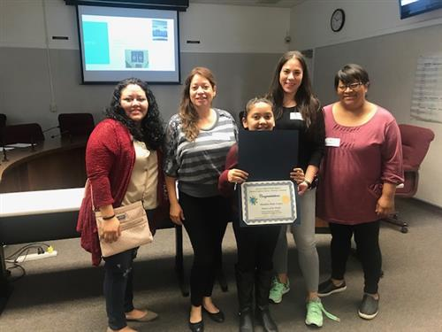 Arlanza's Student of the Month