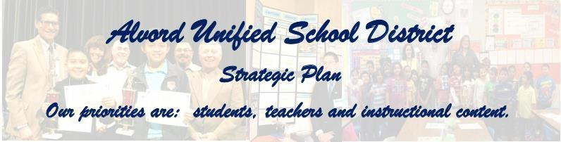 Alvord USD Strategic Plan